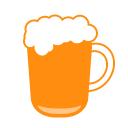 ビールジョッキのサムネ ツイッター Twitter のアイコン サムネ フリー配布