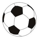 サッカーボールのイラスト ツイッター用サムネ ツイッター Twitter のアイコン サムネ フリー配布